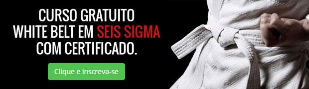Curso gratuito de White Belt em Lean Seis Sigma