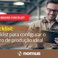 checklist do roteiro de produção